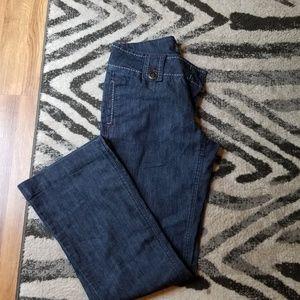 Slacks with jean appearance